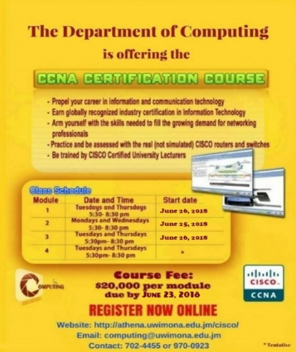 CCNA Course Flyer