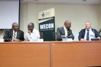 Prof. Webber, Prof. Kahwa, Dr. Henry & Prof. Hillman