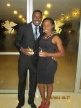 Raymour Wilson (UWI Mona Top Engineering Student for 2014) and Cordene Segree