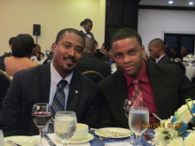 Dr. Omar Thomas (MSE Lecturer) and Stephan Anderson (MSE Staff)