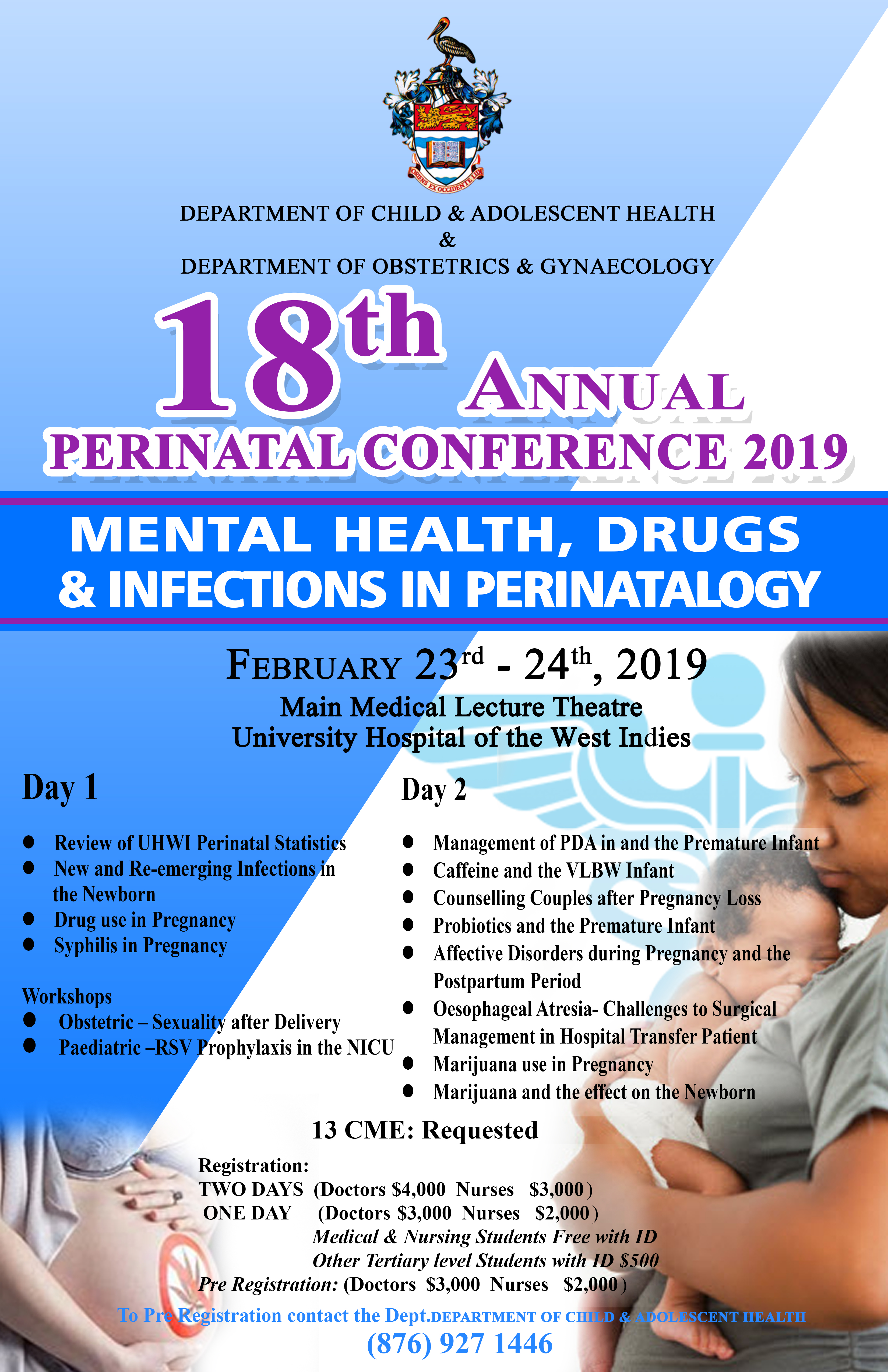 18th Annual Perinatal Conference 2019 | Faculty of Medical Sciences