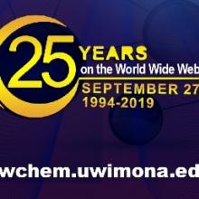Happy 25th Birthday ChemWeb