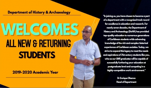 WELCOME | Department of History and Archaeology | The