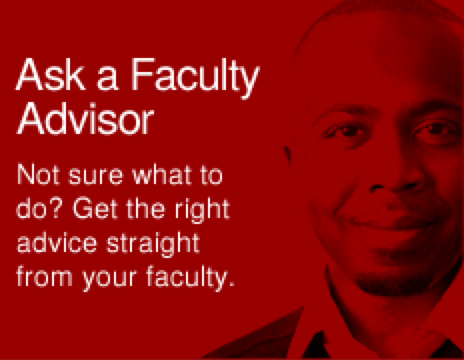 Ask a Faculty Advisor