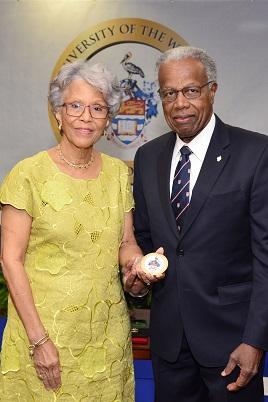 Professor Elsa Leo-Rhynie Awarded Chancellor's Medal