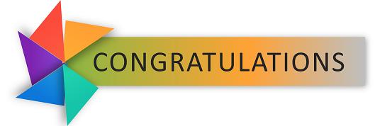 Congratulates