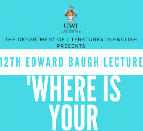 12th Edward baugh Lecture