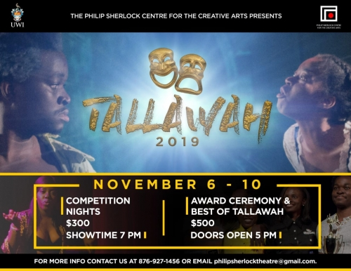 Tallawah Festival 2019 - Short Plays, Poetry, Storytelling and more!