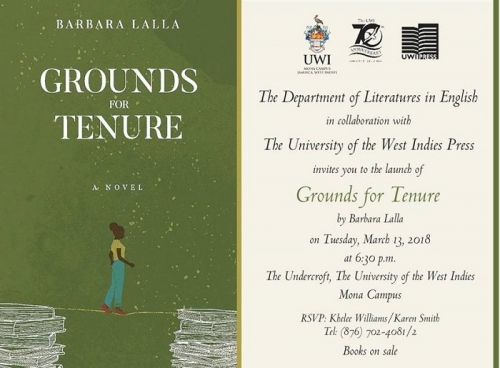 Book Launch : Grounds for Tenure by Barbara Lalla