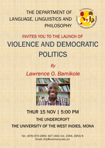 Book Launch  Violence and Democratic Politics