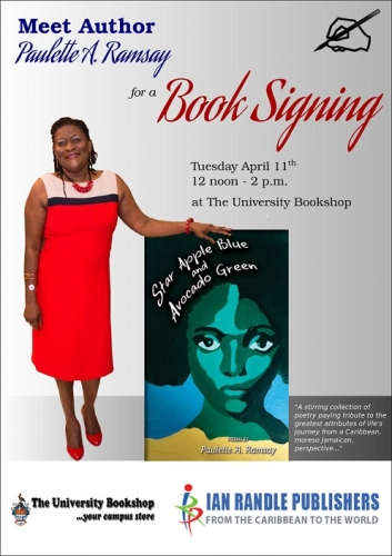 Paulette  A. Ramsay -  Book Signing