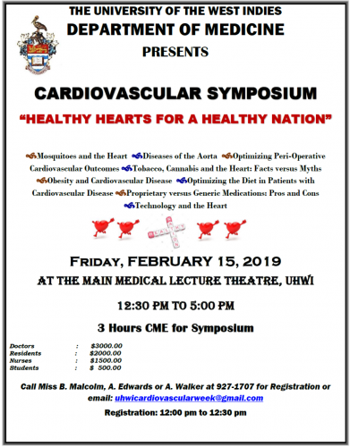 Cardiology Symposium 2019 - Healthy Hearts for a Healthy Nation