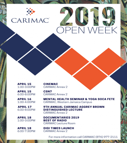 CARIMAC Open Week