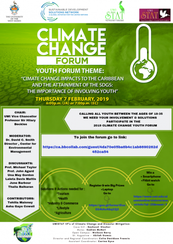 CLIMATE CHANGE YOUTH FORUM