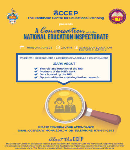 CCEP: Conversation with the National Education Inspectorate