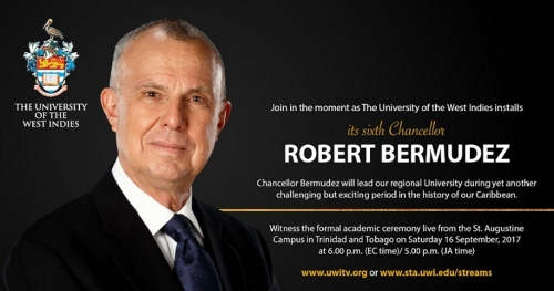 Installation ceremony to be held for new UWI Chancellor, Robert Bermudez