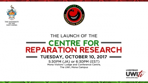 THE LAUNCH OF THE CENTRE FOR REPARATION RESEARCH