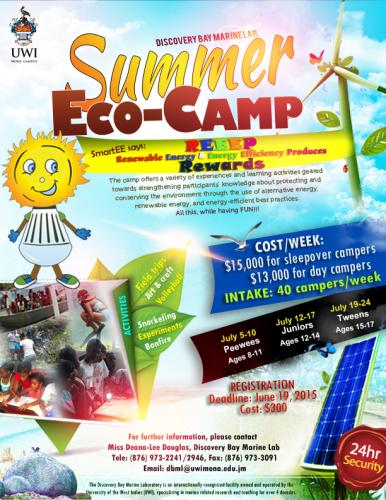 Discovery Bay Marine Lab's Summer Eco-Camp (Registration Deadline