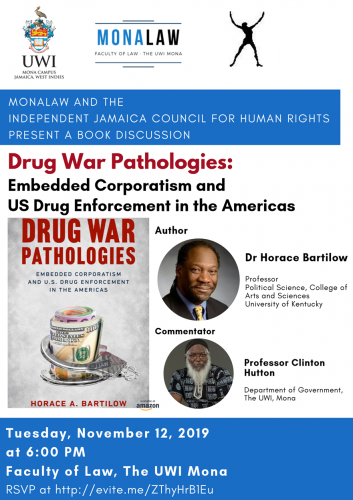 MonaLaw Book Discussion | Drug War Pathologies: Embedded Corporatism & US Drug Enforcement in the Americas