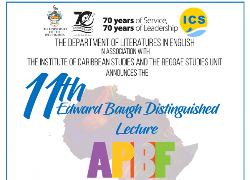 EDWARD BAUGH DISTINGUISHED LECTURE