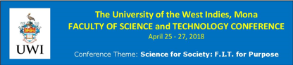 FACULTY OF SCIENCE and TECHNOLOGY CONFERENCE