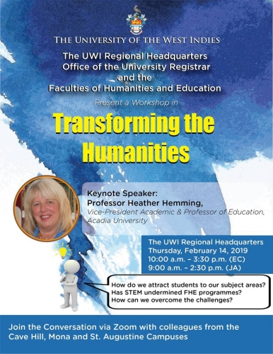 FHE Workshop | Transforming the Humanities