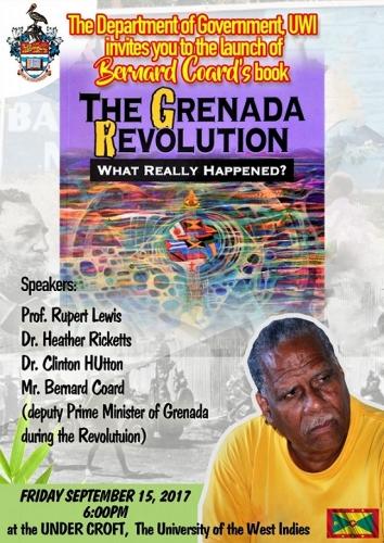 Bernard Coard's book THE GRENADA REVOLUTION - WHAT REALLY HAPPENED?