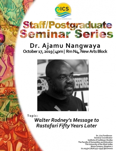 ICS STAFF/POSTGRADUATE SEMINAR