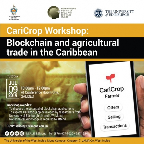 SALISES| CariCorp Workshop: Blockchain and agricultural trade in the Caribbean
