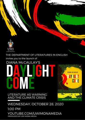 Virtual Book Launch | Diana McCaulay's Daylight Come