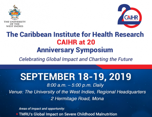 CAIHR 20th Anniversary Symposium | Celebrating Global Impact and Charting the Future Mona Messaging Centre