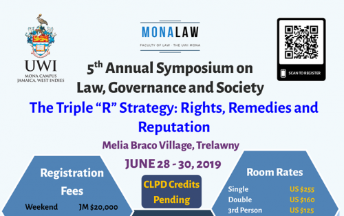 "MonaLaw 5th Annual Symposium on Law, Governance & Society | The Triple ""R"" Strategy: Rights, Remedies and Reputation"
