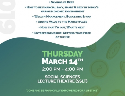 Financial Symposium: DOLLARS & CENTS | Rising Above Financial Hardships