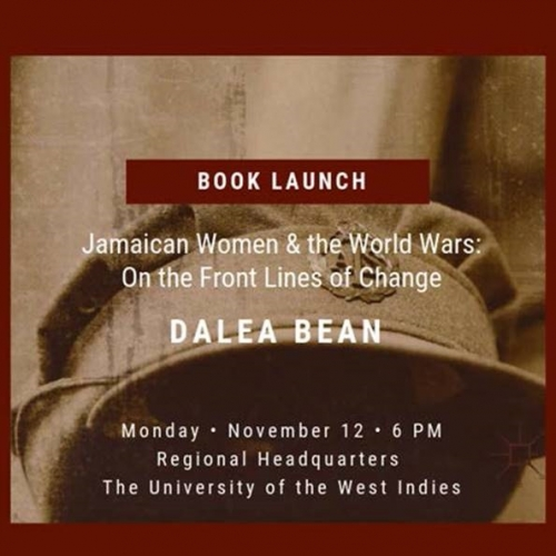 Book Launch | Jamaican Women and the World Wars: On the Front Lines of Change