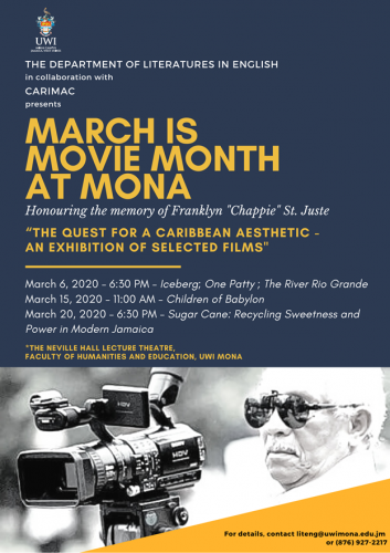 March is Movie Month At Mona