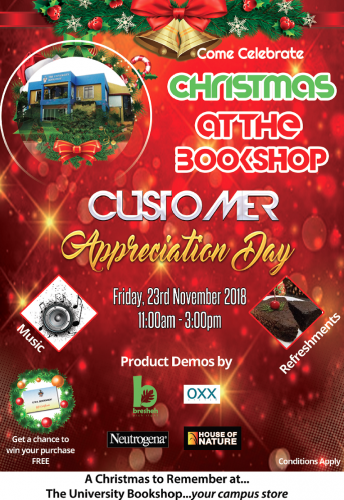 The UWI Bookshop Customer Appreciation Day
