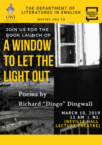 "Book Launch | A Window to Let the Light Out, Richard ""Dingo"" Dingwall"