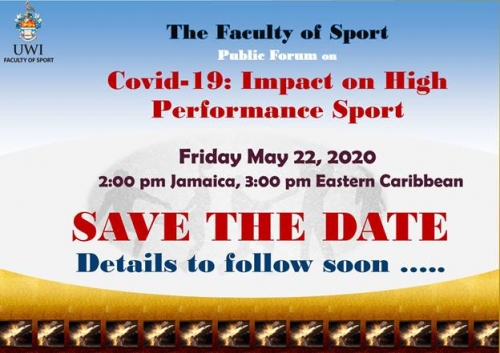 Faculty of Sport Public Forum | Covid-19 : Impact on High Performance Sport