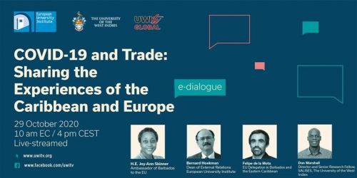 COVD-19 and Trade: Sharing the Experiences of the Caribbean and Europe