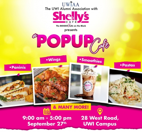 The UWI Alumni Association Jamaica Chapter - Shelly's Cafe Pop Up Shop