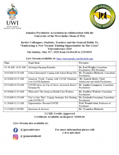 UWI and JPA seminar