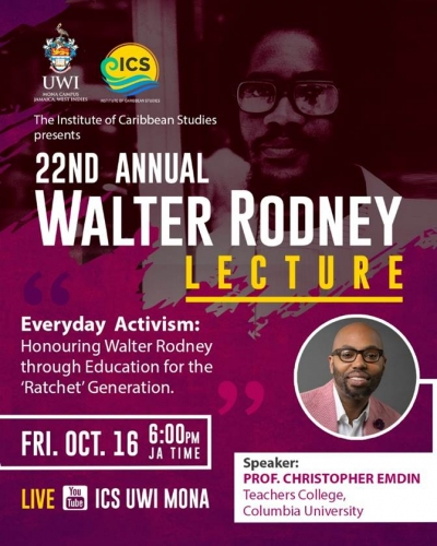 The Annual Walter Rodney Lecture
