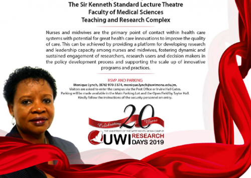 Inaugural Professorial Lecture | Professor Eulalia Kahwa : The UWI School of Nursing