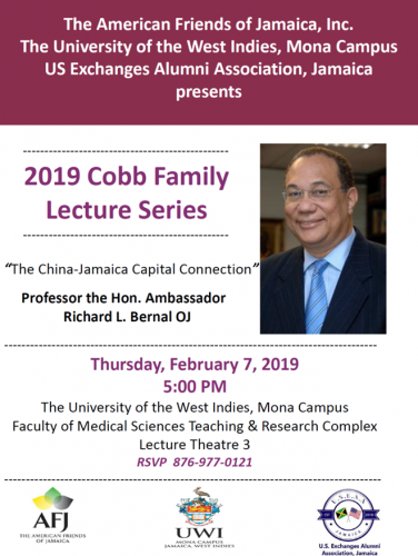 Invitation | 2019 Cobb Family Foundation Lecture Series