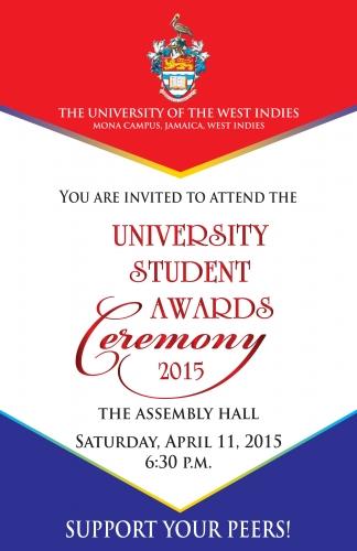 university student award ceremony 2015