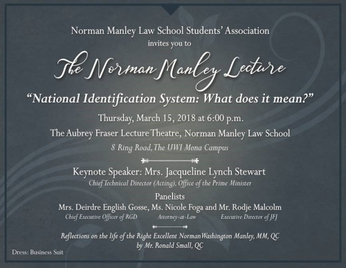 Norman Manley Lecture