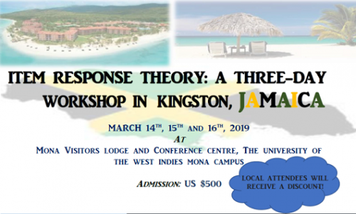 Item Response Theory - Three Day Workshop