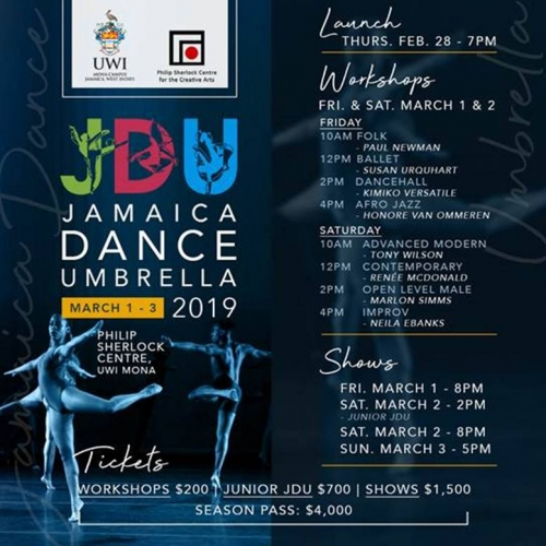 Jamaica Dance Umbrella 2019