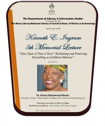 Kenneth E. Ingram 5th Memorial Lecture
