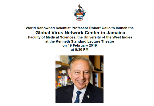 Launch of the Global Virus Network Centre in Jamaica